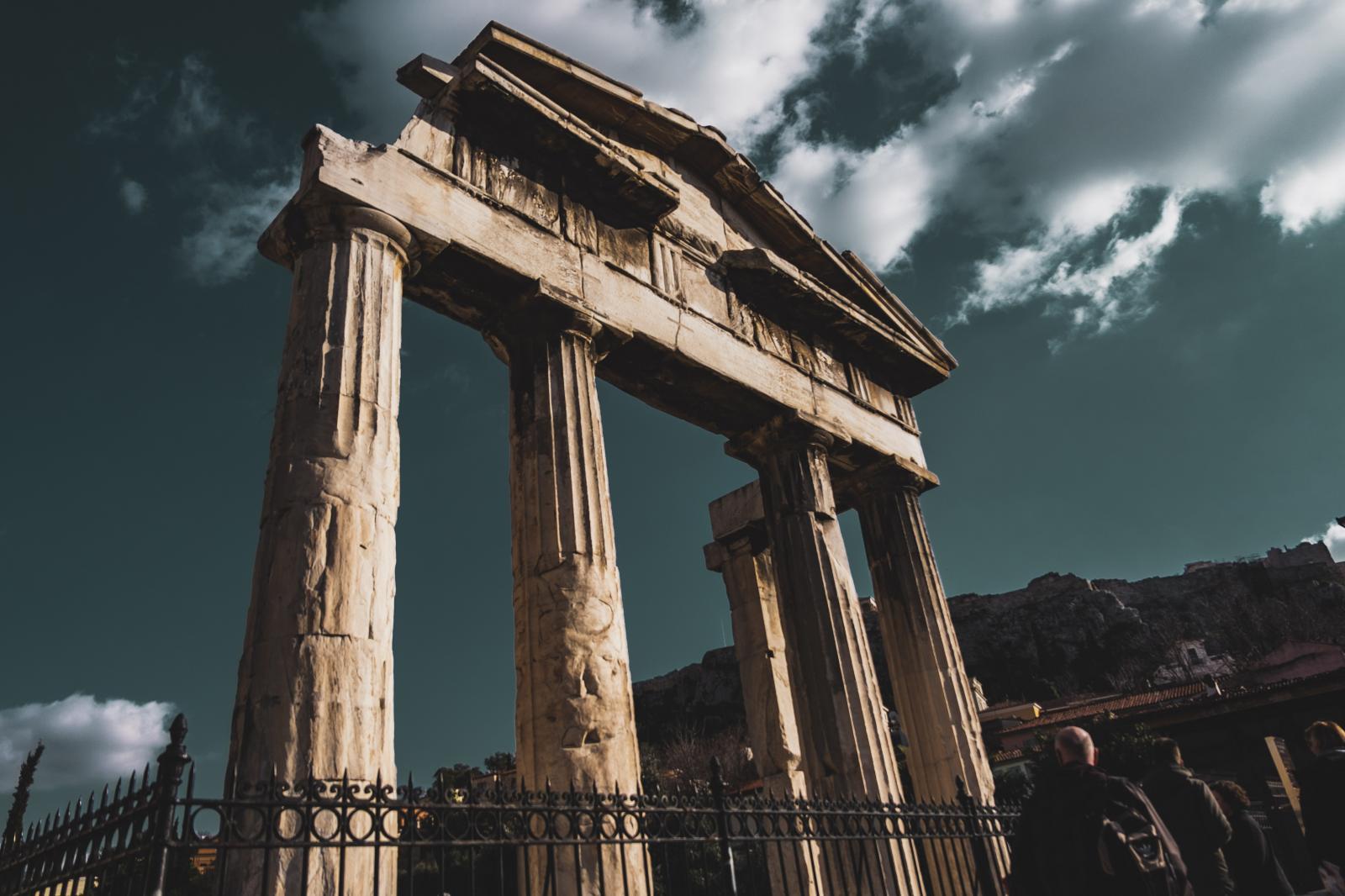 Athens Acropolis Ancient Agora Temple